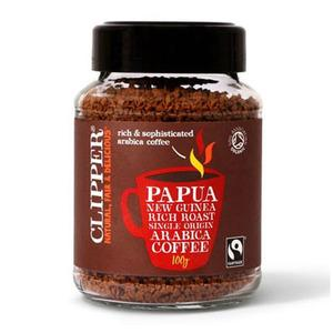 Instant Coffee Papua Ny-Guinea Økologisk (Clipper) - 100 gr