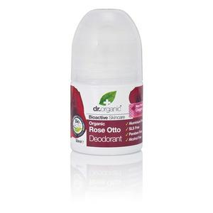 Dr. Organic Rose Otto Roll-On Deo - 50 ml