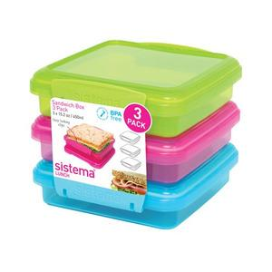 Sistema matboks Sandwich 3 Pack - 450 ml