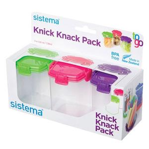 Sistema TO GO™ Knick Knack Pack Medium - 3 stk
