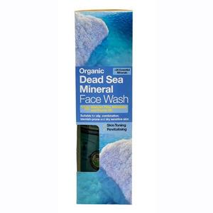 Dr. Organic Dead Sea Mineral Face Wash - 200 ml.