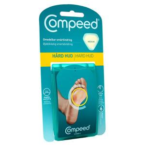 Compeed for hard hud medium - 6 stk