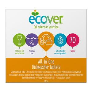 Ecover All in One Opvasketabs - 70 tabs
