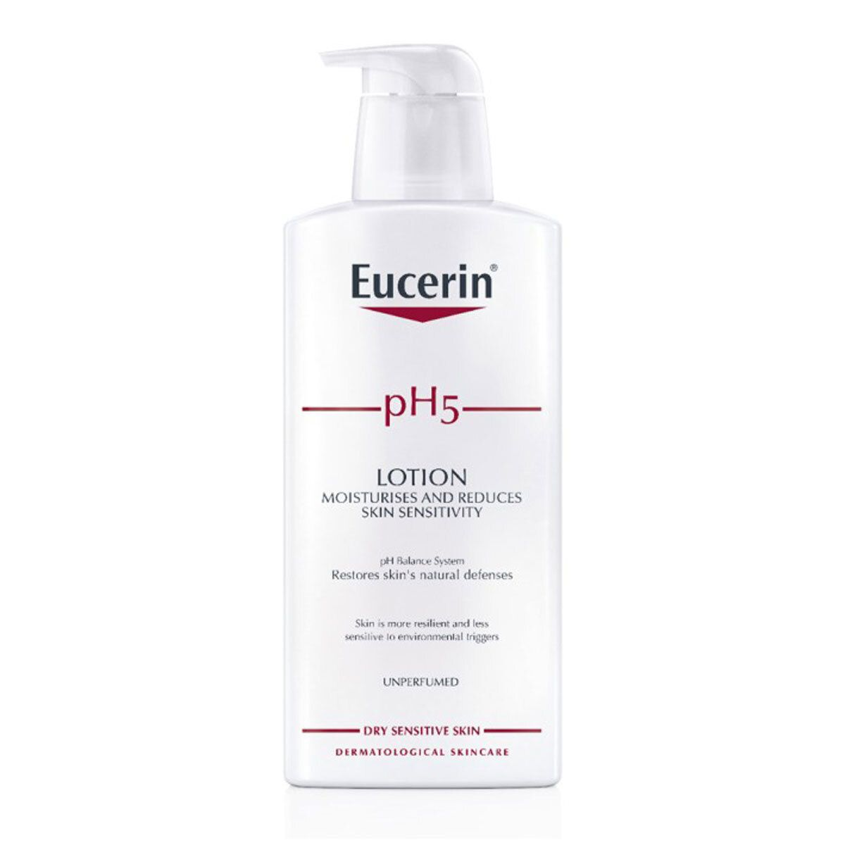 Bilderesultat for eucerin ph5 lotion uten parfyme