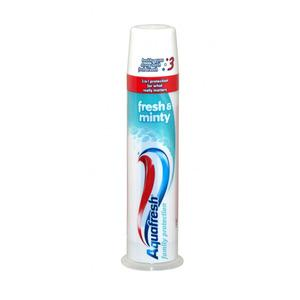 Aquafresh Trippel Protection tannkrem (pumpe) - 100ml