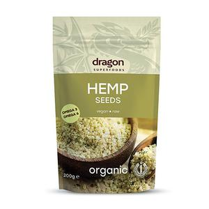 Dragon Superfoods hampefrø avskallet Ø - 200 g