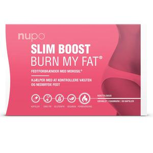 Nupo Slim Boost BURN MY FAT - fettforbrenner - 30 stk