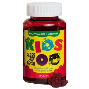 Kids Zoo Multivitamin + mineraler - 60 stk