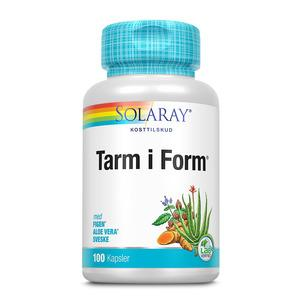 Solaray Tarm i Form - 100 kapsler