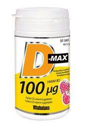 normalt d vitaminnivå