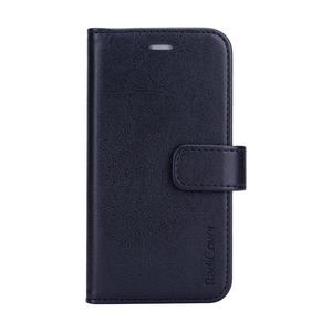 Radicover iPhone 12  Mini Flipcover, vegansk lær - Sort